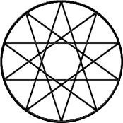 how to draw a pentacle