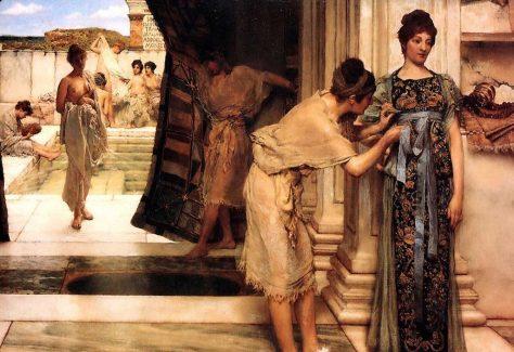 Roman-women-bathing
