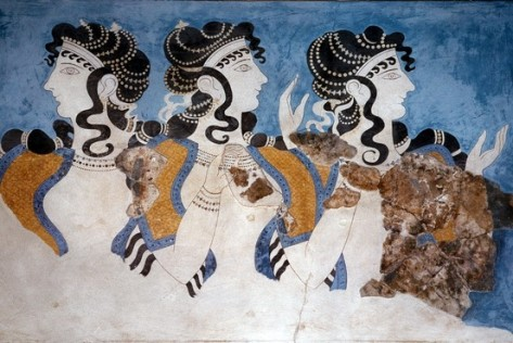 knossos-ladies-in-blue