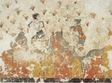 akrotiri-crocus-gatherers